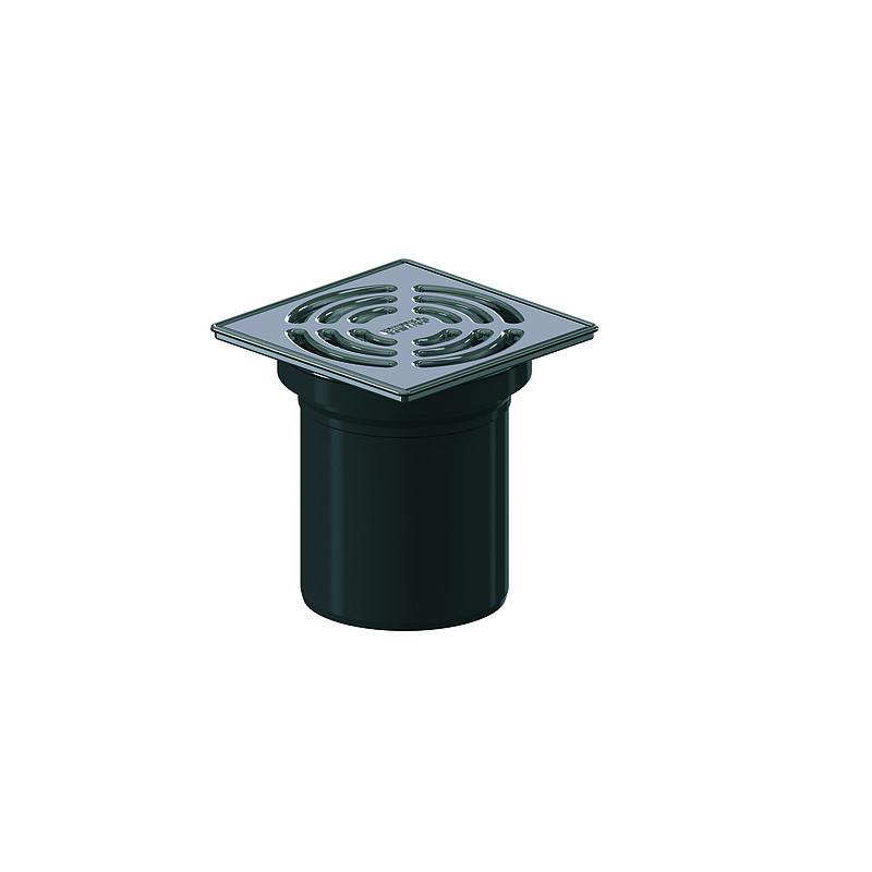 dallmer bodenablauf pronto ohne dichtung dn 90 120 x 120 mm schaco ag. Black Bedroom Furniture Sets. Home Design Ideas