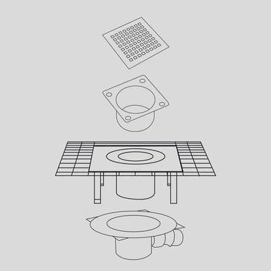 bodenabl ufe schaco ag. Black Bedroom Furniture Sets. Home Design Ideas